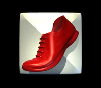 Red Shoe icon model
